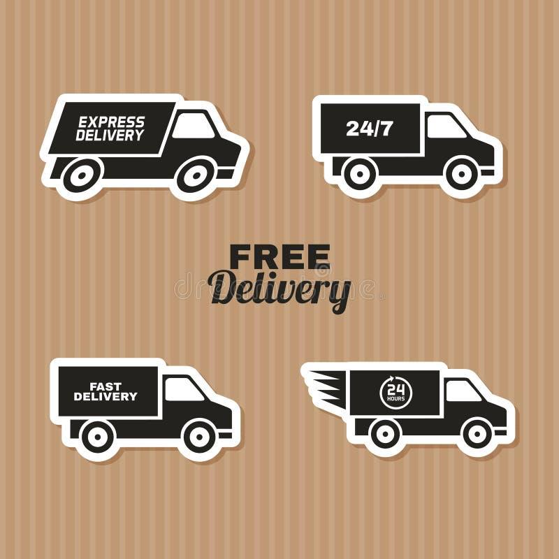 consegna royalty illustrazione gratis