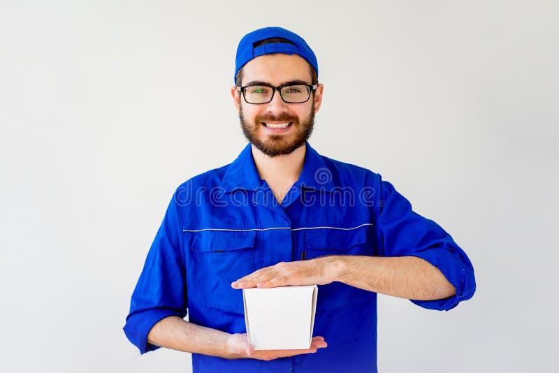 Consegna cinese dell'alimento fotografia stock