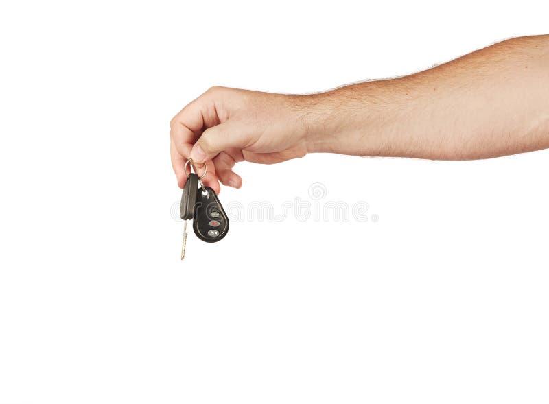 Consegna delle chiavi fotografie stock