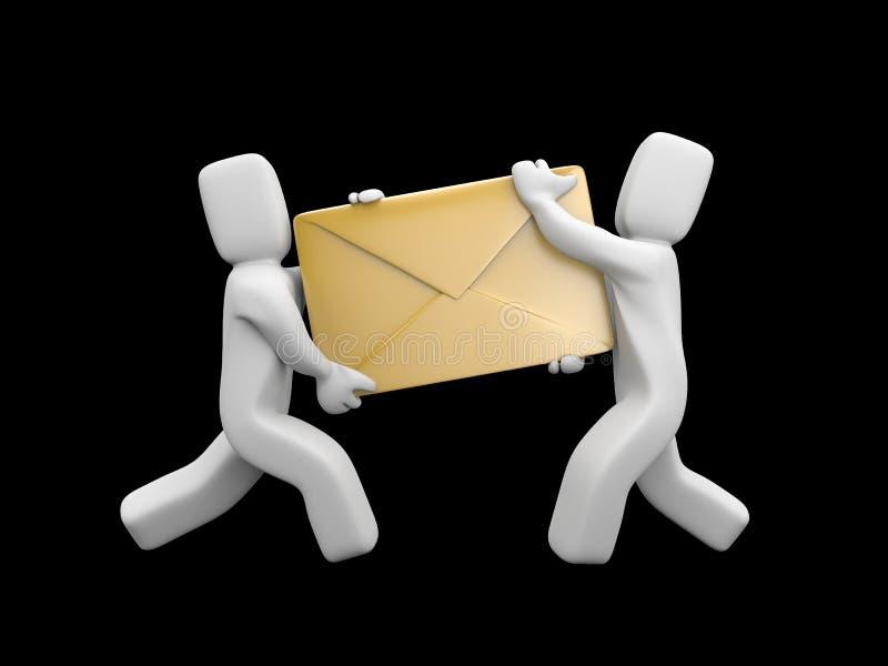 Consegna di posta royalty illustrazione gratis