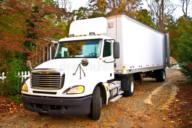 Consegna rurale/grande camion fotografia stock libera da diritti