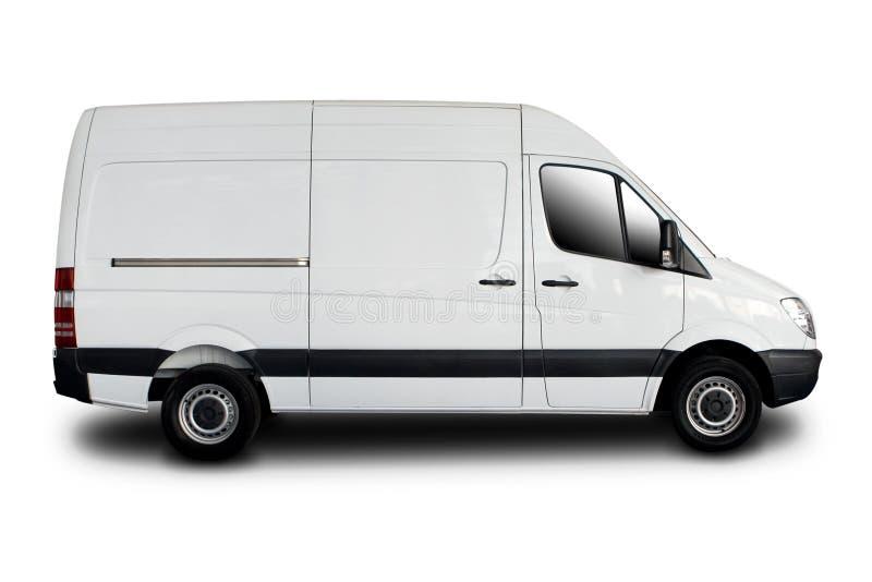Consegna Van Immagini Stock