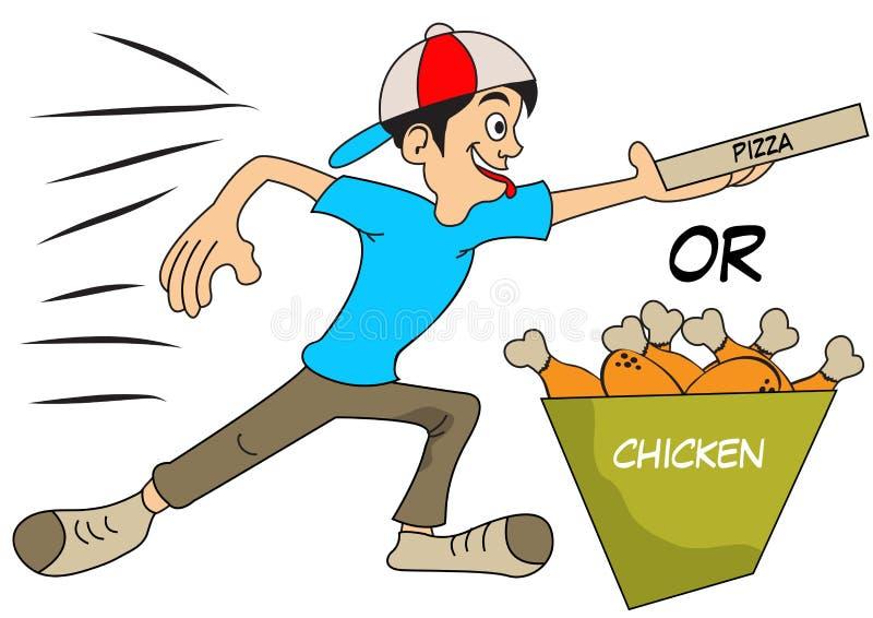 Consegna veloce illustrazione di stock