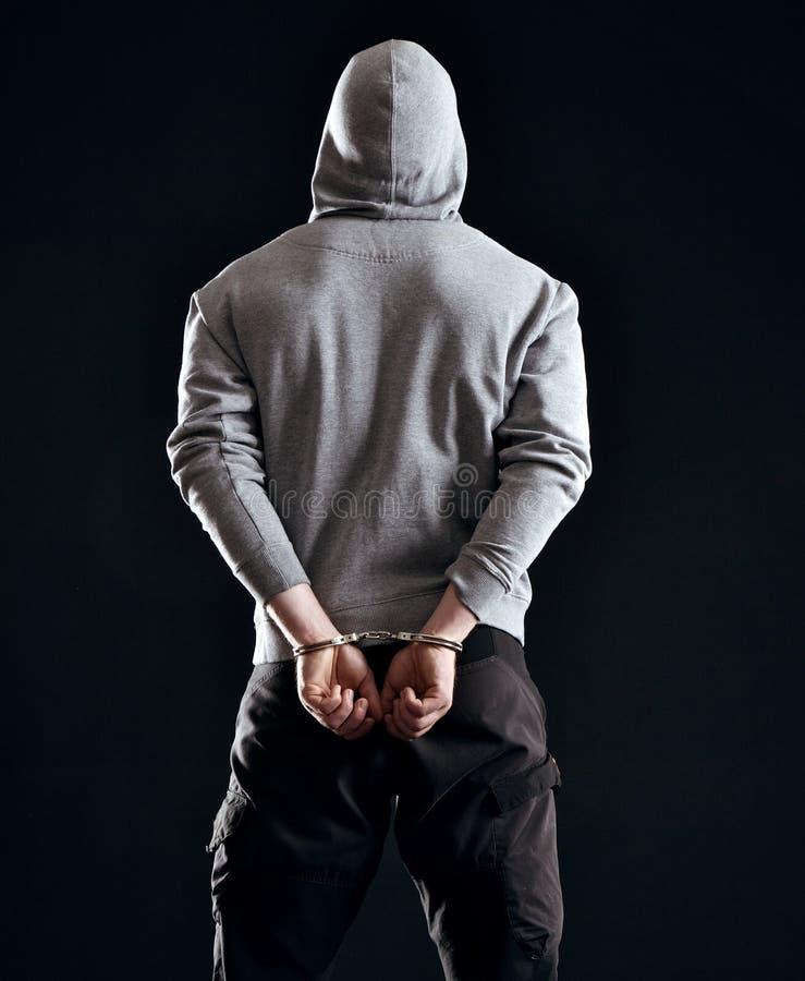 Conseguenza del crimine fotografia stock