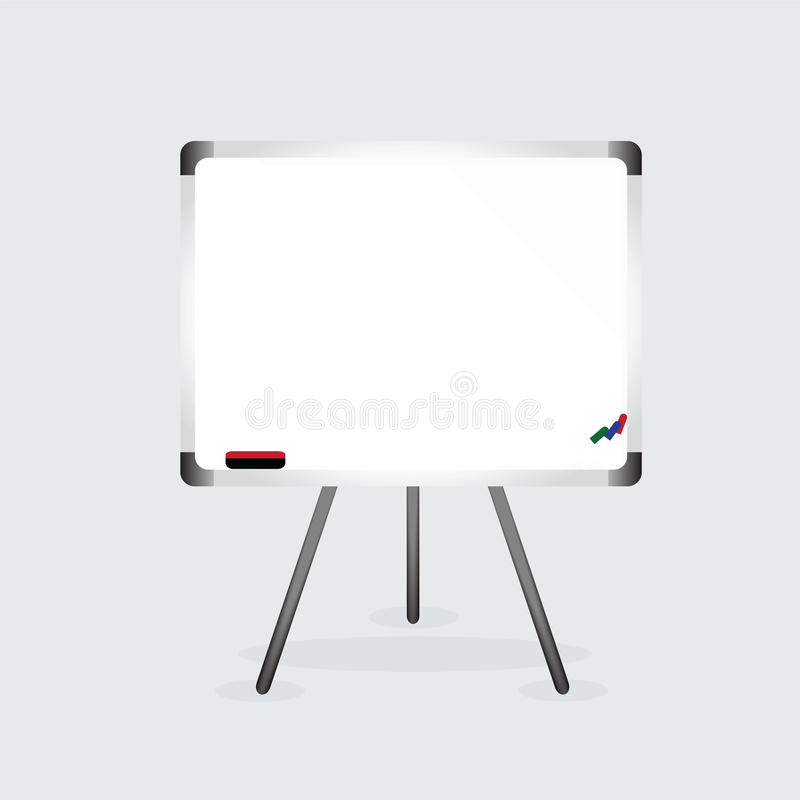 Conseil blanc illustration stock