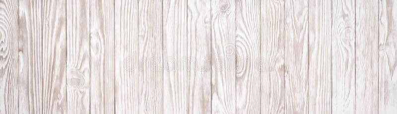 Conseil blanc comme fond pour la conception de table ou de plancher, v panoramique image stock