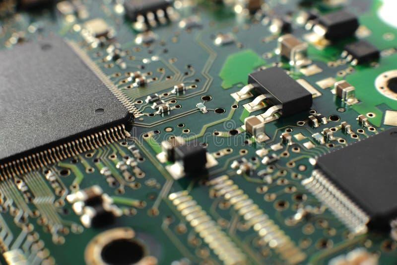 Conseil d'Electonics avec des composants photo libre de droits