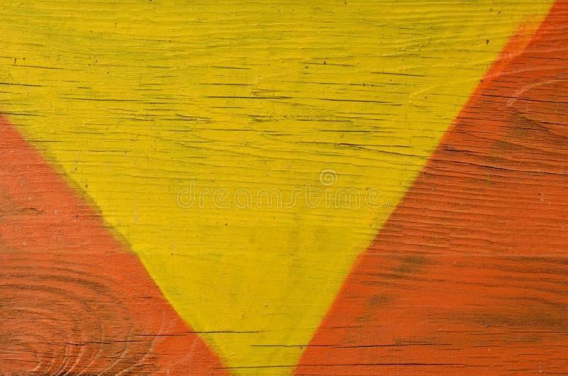 Conseil en bois coloré criqué image libre de droits