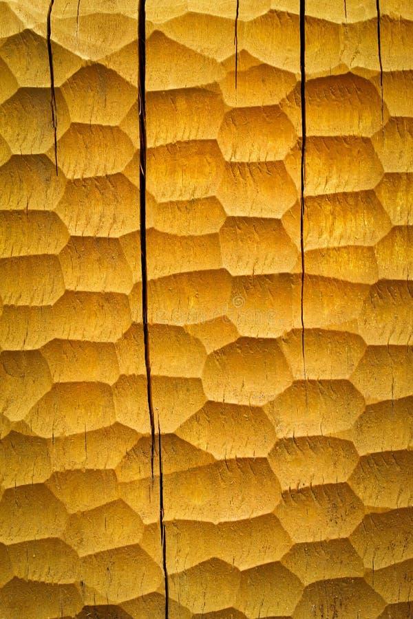 Conseil en bois gougé image libre de droits