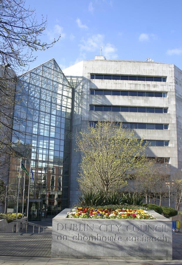 Conseil municipal de Dublin photos libres de droits