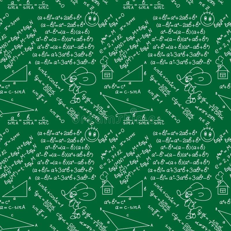 Conseil pédagogique sans couture de modèle Jour de professeurs du monde illustration de vecteur