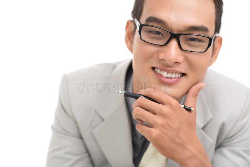 Conseiller financier images stock
