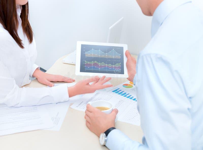 Conseiller financier photo stock