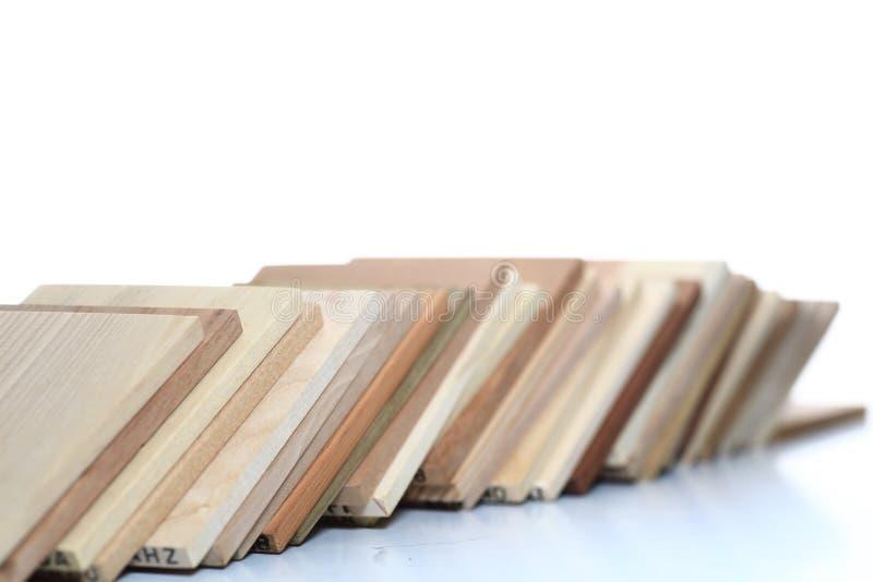 Conseils en bois photographie stock