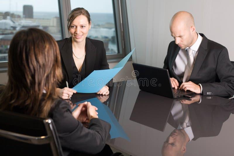 Conselheiros do seguro imagem de stock royalty free