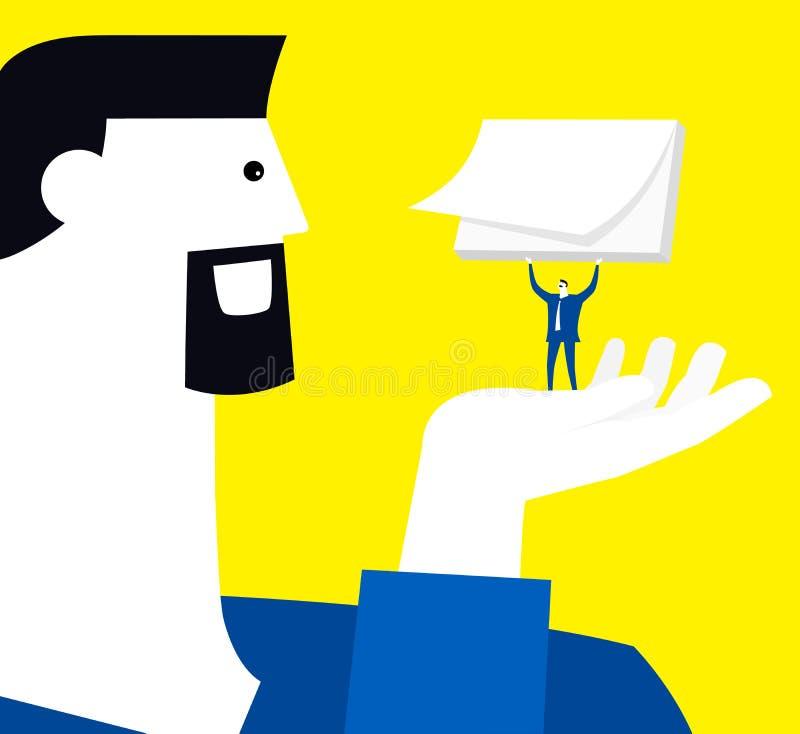 conselho ilustração do vetor