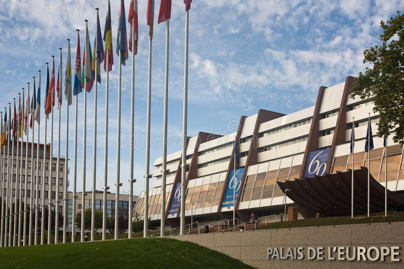 Conselho Europeu fotografia de stock