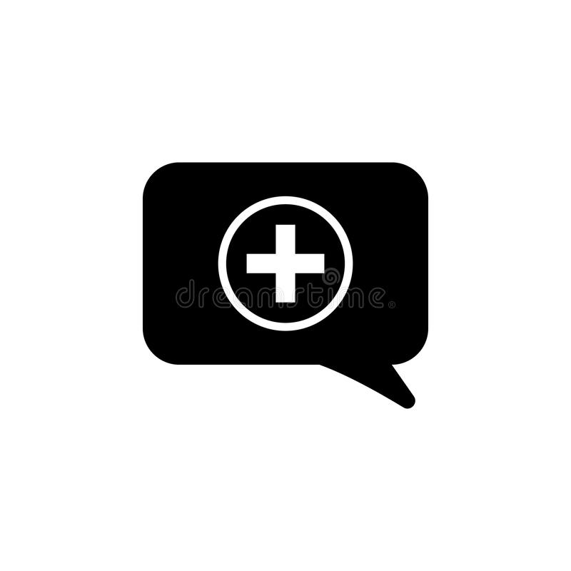 consent in a communication bubble icon. Element of simple icon for websites, web design, mobile app, info graphics. Signs and symb stock illustration