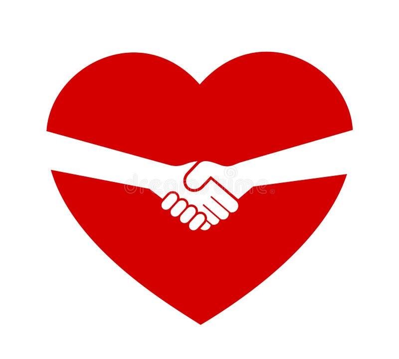 Consentement, affaire et traité entre l'associé, la personne la plus proche et l'amant illustration stock