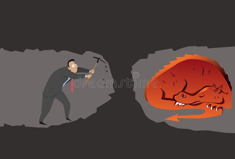 conseqüências ilustração stock