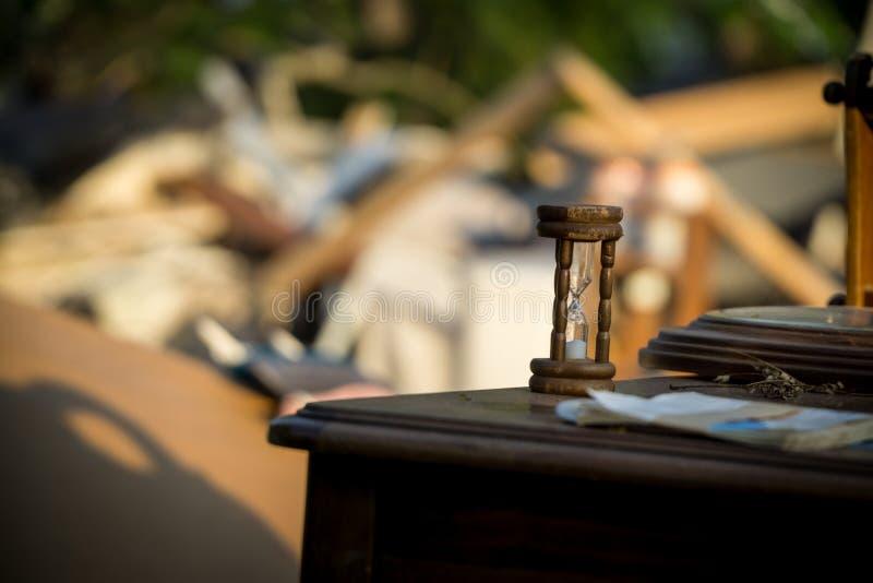 Consequências do furacão foto de stock