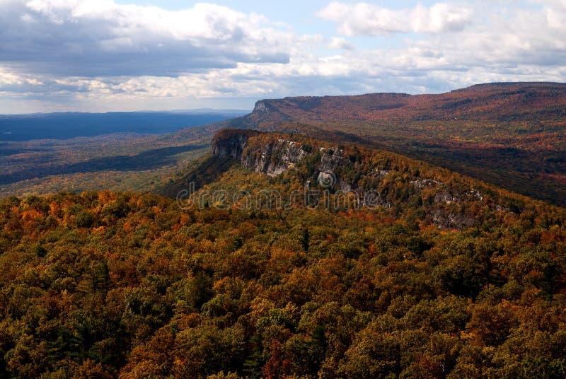 Conserva della montagna di Mohonk, NY. Caduta fotografia stock libera da diritti
