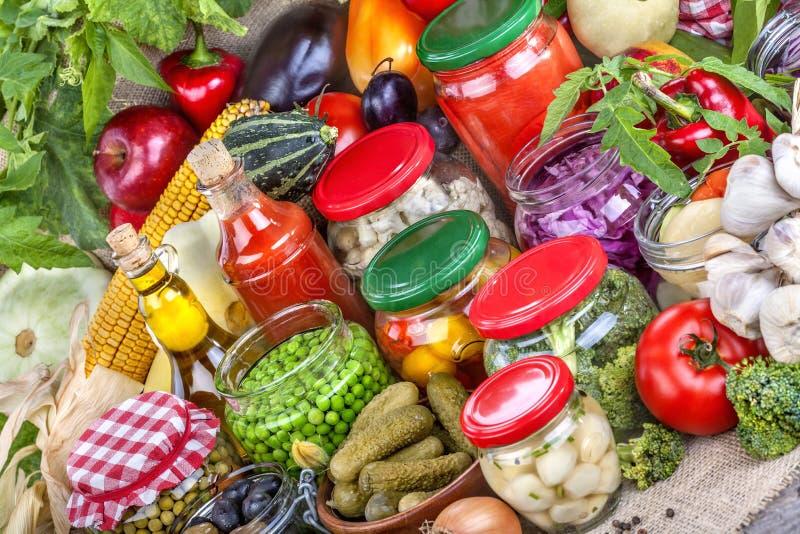 Conservación de alimentos fotografía de archivo libre de regalías