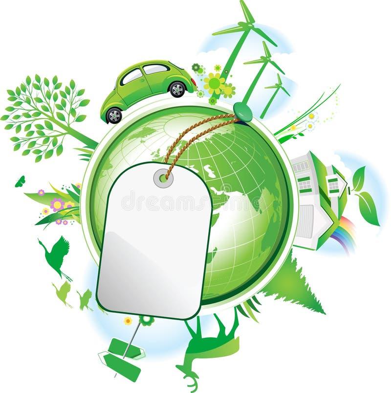 Conservación global. libre illustration