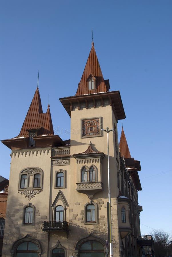 Conservatório em Saratov foto de stock