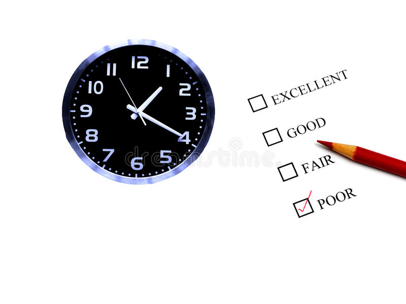 Conservation du temps images stock