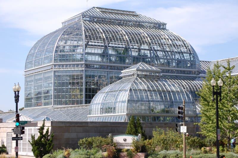 Conservatoire de jardin botanique des USA image libre de droits