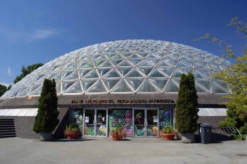 Conservatorio di Bloedel, Vancouver fotografia stock libera da diritti