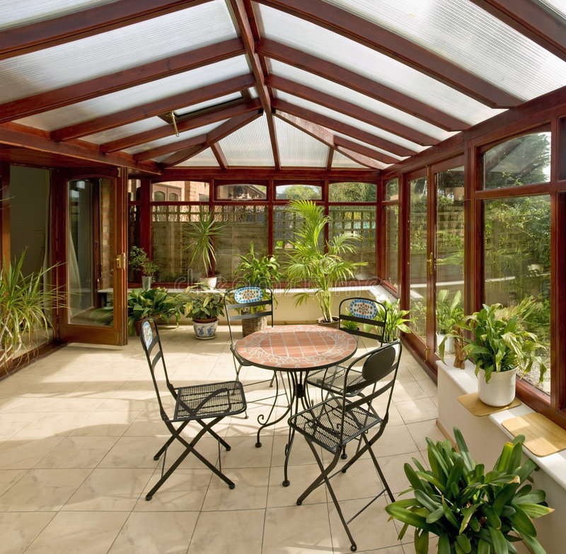 Conservatory royalty free stock photography
