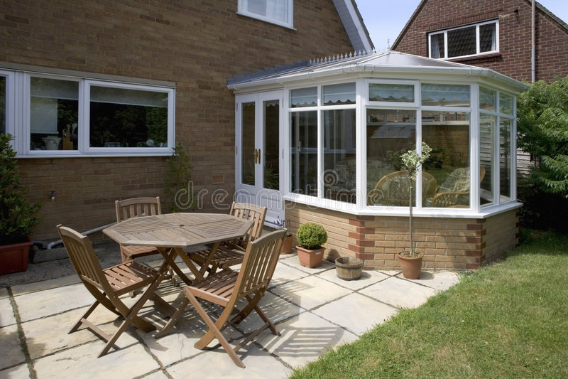 Conservatory stock photography
