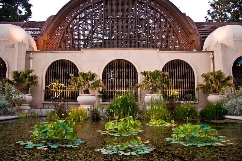 Conservatory of Flowers, Balboa Park, San Diego stock photos
