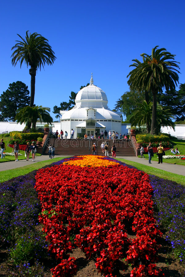 Download Conservatory Of Flowers, San Francisco Stock Image - Image: 1706179
