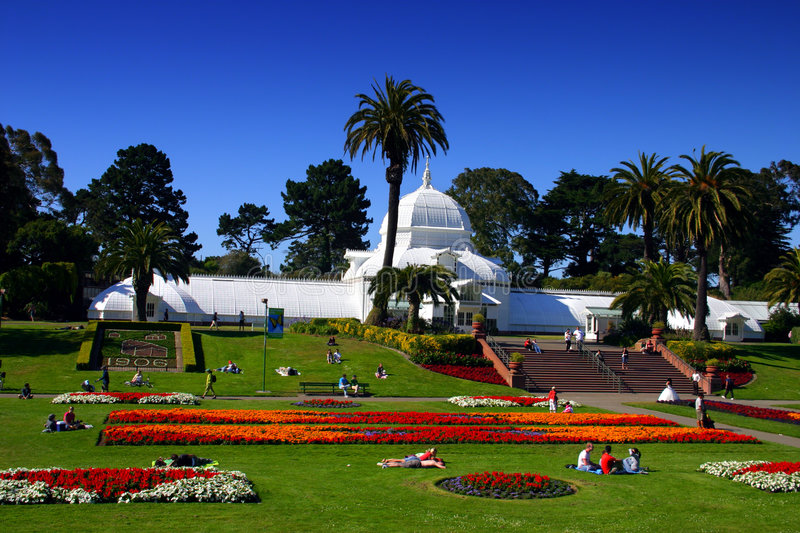 Download Conservatory Of Flowers, San Francisco Stock Photo - Image of botanical, green: 1706184