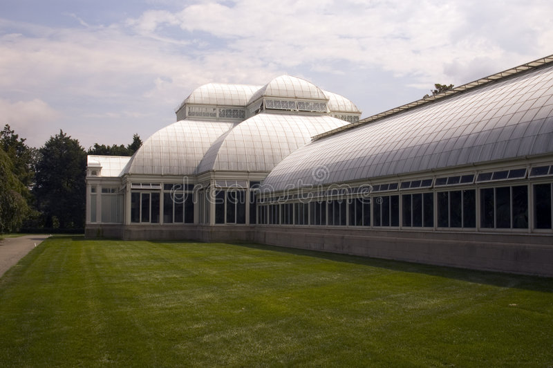 Conservatory green house stock photography
