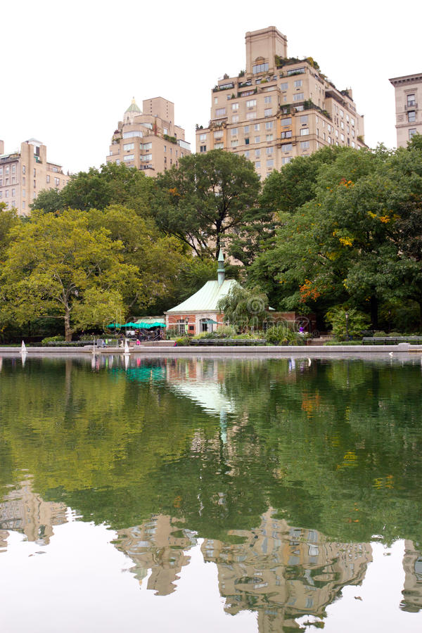 Conservatory Water, Central Park, New York Stock Photo ...