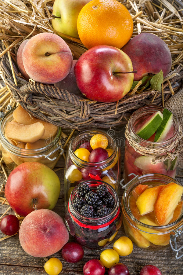 Conservazione della frutta immagine stock libera da diritti