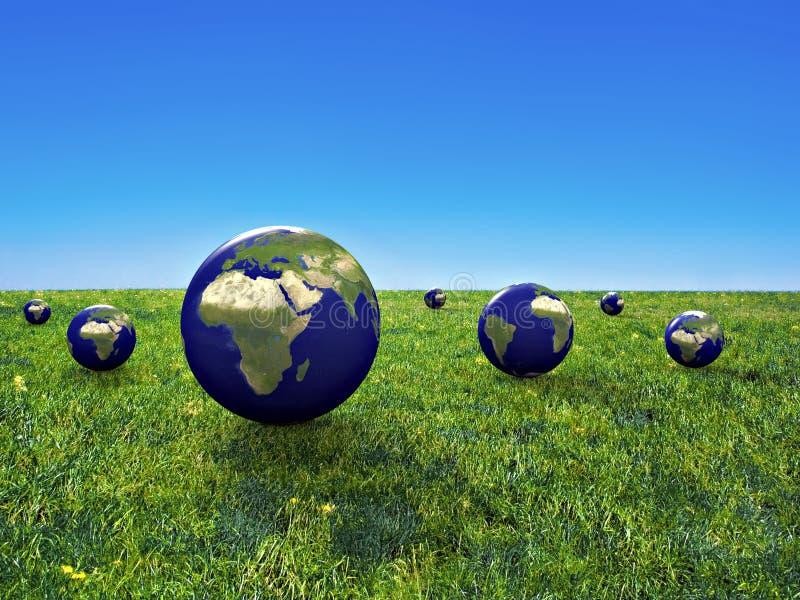 Conservazione della terra immagine stock libera da diritti