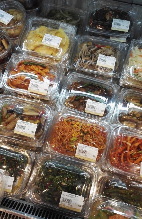 Conserves au vinaigre coréennes assorties Kimchi photos libres de droits