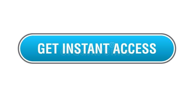 Consiga el acceso inmediato stock de ilustración