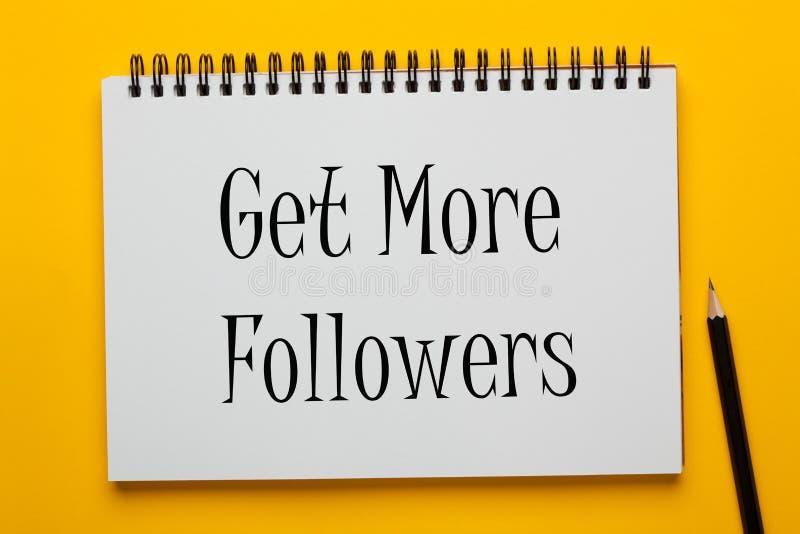consiga más seguidores libre illustration