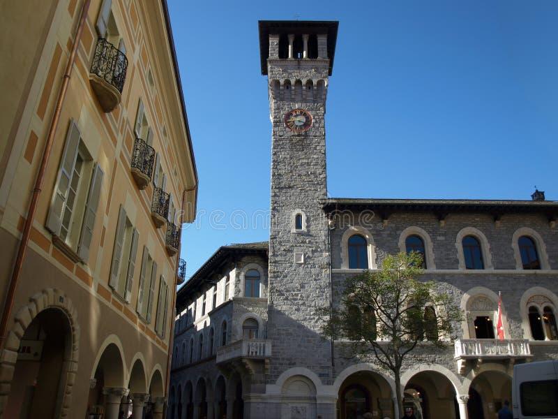 Consiglio comunale di Bellinzona, il Ticino, Svizzera fotografie stock libere da diritti