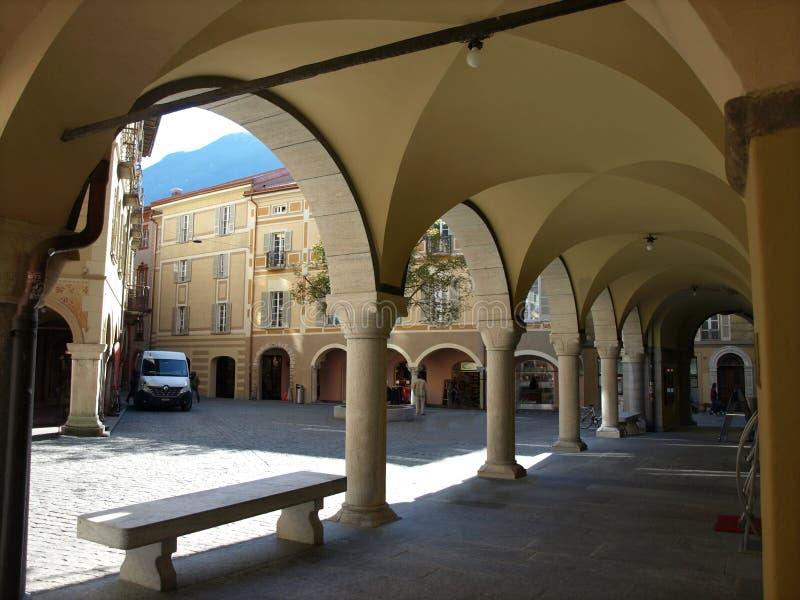 Consiglio comunale di Bellinzona, il Ticino, Svizzera fotografia stock libera da diritti