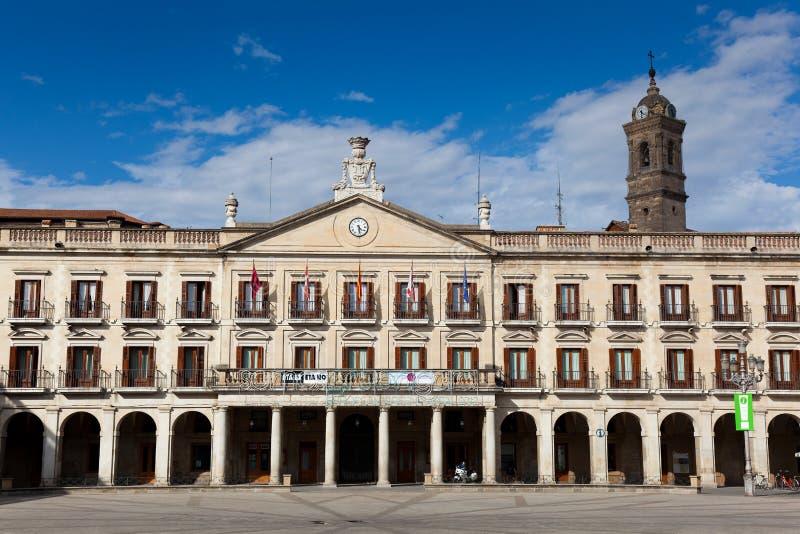 Consiglio di città, Vitoria immagine stock libera da diritti