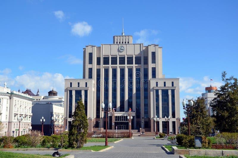 Consiglio di Stato della Repubblica di Tatarstan immagine stock