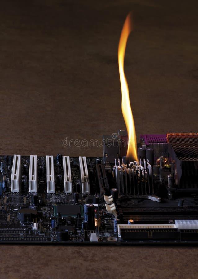 Download Consiglio Principale Bruciante Fotografia Stock - Immagine di consumismo, fuoco: 30830446