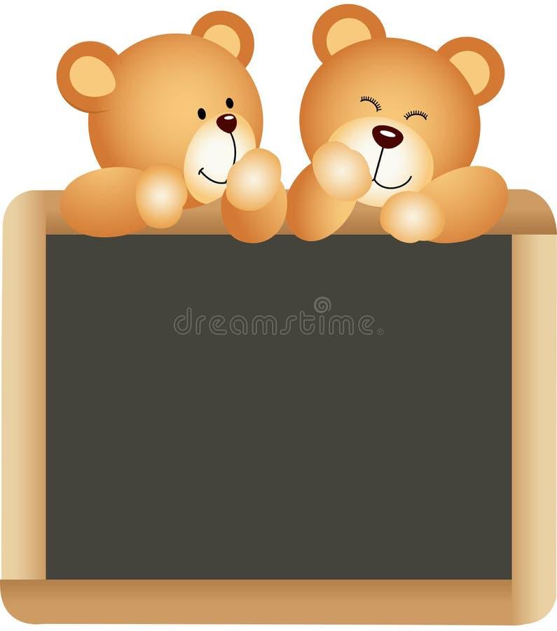 Consiglio scolastico degli orsacchiotti illustrazione vettoriale